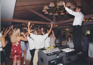 Fun and Crazy Wedding Reception DJ Paul